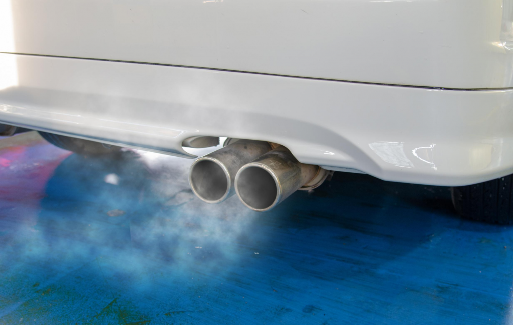 What Does Blue Smoke Coming Out of My Tailpipe Mean