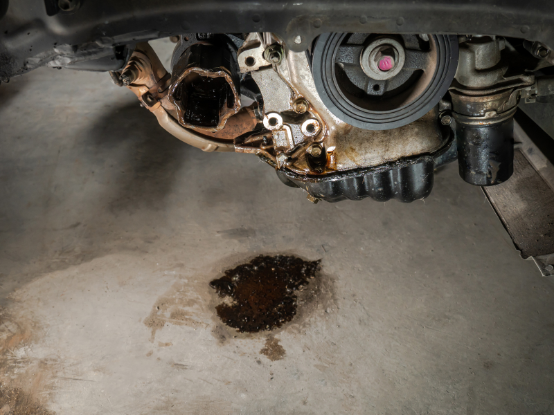 5 Common Automotive Leaks in Older Cars